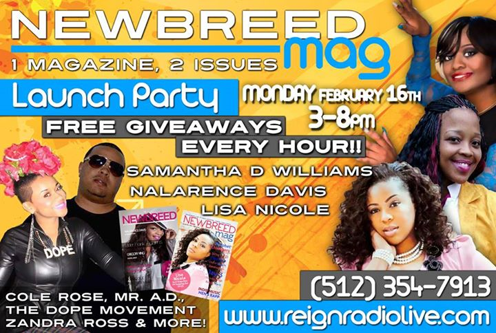New Breed Magazine Launch Party