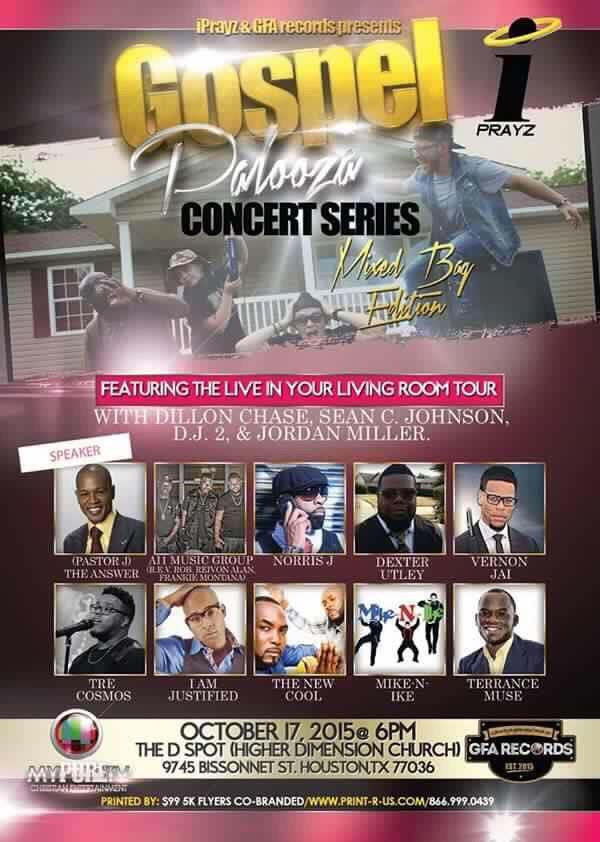 Gospel Palooza Concert Series