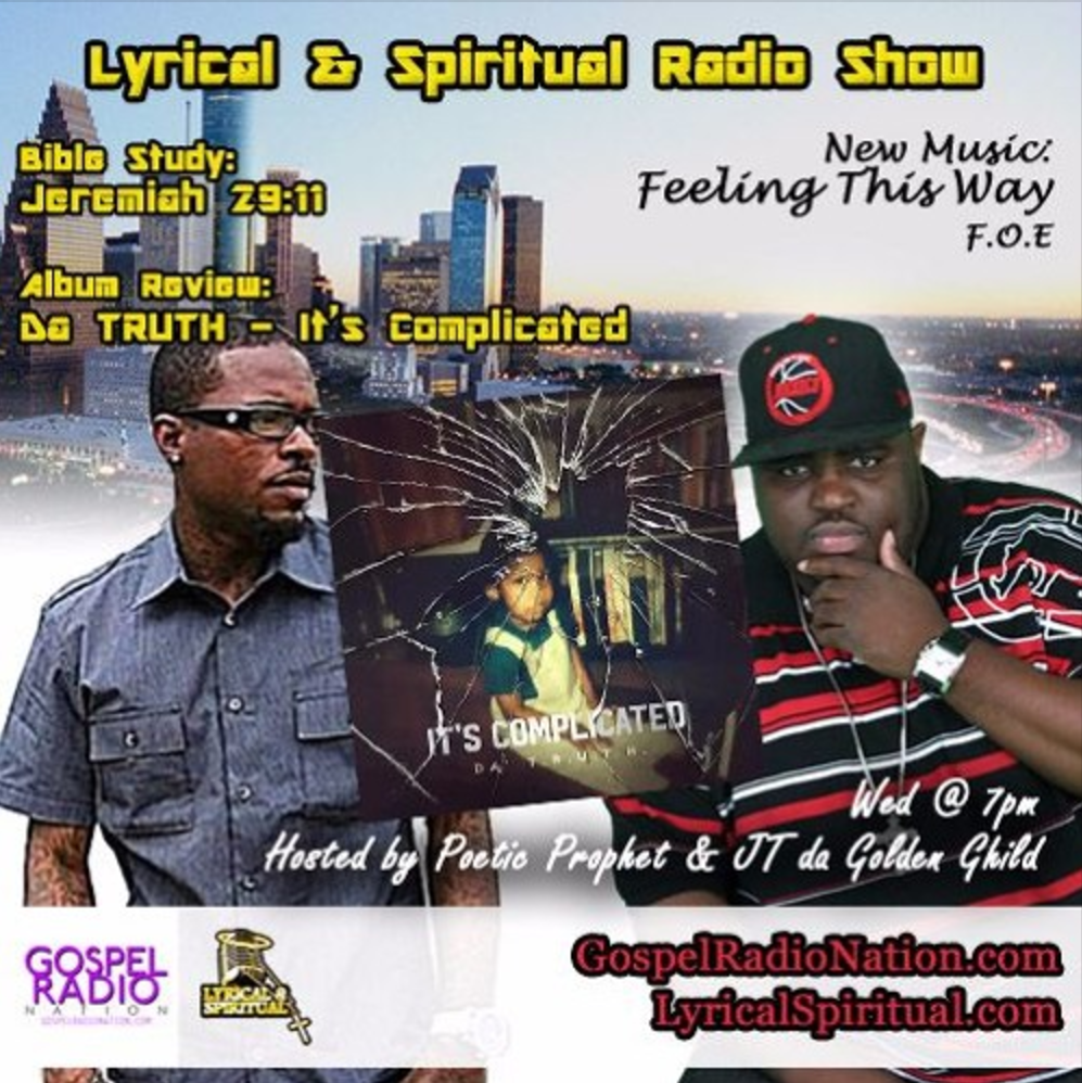 Lyrical & Spiritual Radio Show 50