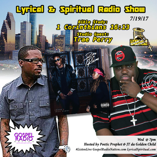 Lyrical & Spiritual Radio Show 63 with Trae Perry
