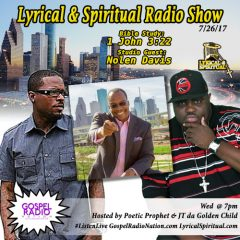 Lyrical & Spiritual Radio Show 64 with Nolen Davis