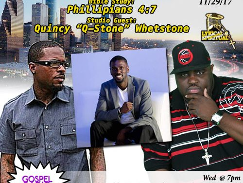 Lyrical & Spiritual Radio Show 79 with Q Stone